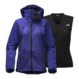 The North Face Purist Triclimate Womens Insulated Ski Jacket, Inauguration Blue, 256