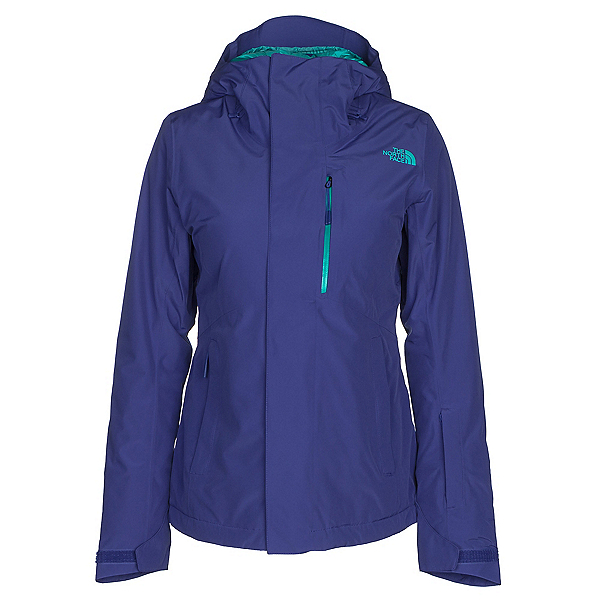 The North Face Descendit Womens Insulated Ski Jacket, Inauguration Blue, 600