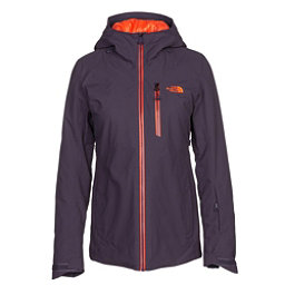 The North Face Lostrail Womens Insulated Ski Jacket, Dark Eggplant Purple, 256