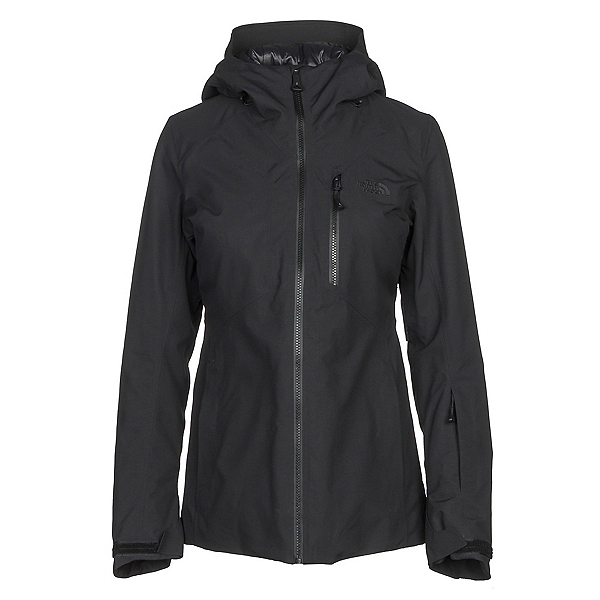 The North Face Lostrail Womens Insulated Ski Jacket, TNF Black, 600