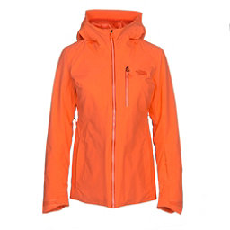 The North Face Lostrail Womens Insulated Ski Jacket, Nasturtium Orange, 256
