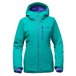 The North Face Lostrail Womens Insulated Ski Jacket, Vistula Blue, 256