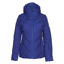 The North Face Corefire Down Womens Insulated Ski Jacket, Inauguration Blue, 256