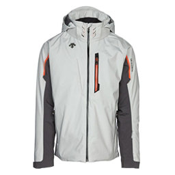 Descente Terro Mens Insulated Ski Jacket, Moonstone Gray-Anthracite Gray, 256
