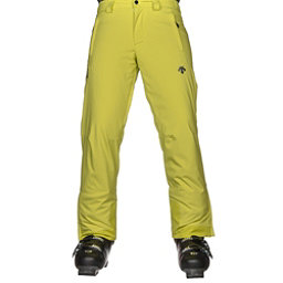 Descente Stock Mens Ski Pants, Sulfer Lime, 256