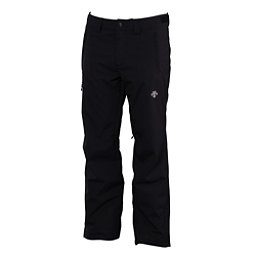 Descente Stock Short Mens Ski Pants, Black, 256