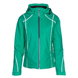 Descente Bree Womens Insulated Ski Jacket, Electro Green, 256