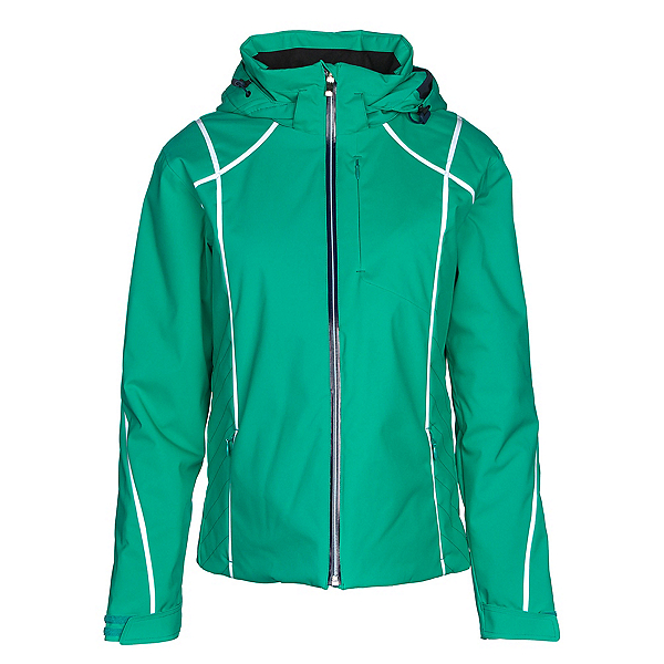 Descente Bree Womens Insulated Ski Jacket, Electro Green, 600