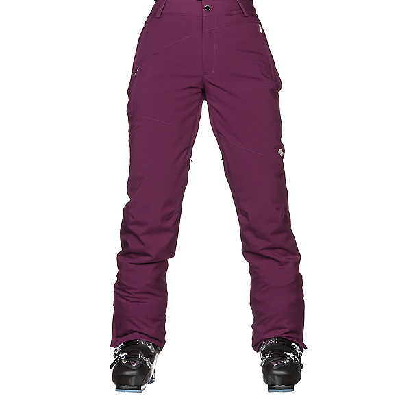 Descente Norah Womens Ski Pants, Deep Plum, 600