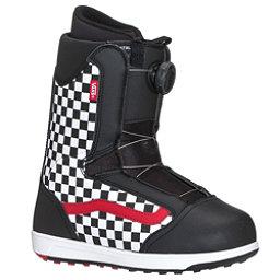 Vans Brystal Kids Snowboard Boots 2018, Black-Checker, 256