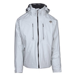 Descente Regal Mens Insulated Ski Jacket, Moonstone Gray-Black, 256