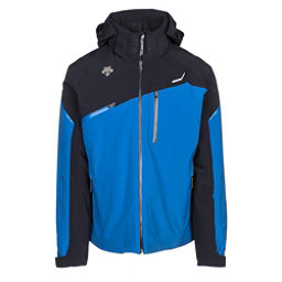 Descente Fusion Mens Insulated Ski Jacket, True Blue-Black, 256