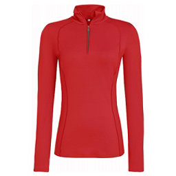 Bogner Madita Womens Long Underwear Top, Hot Red, 256