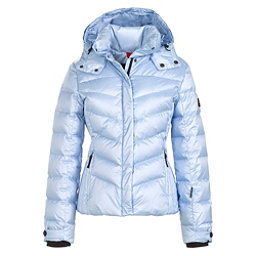 Bogner Fire + Ice Sally3 Down Womens Insulated Ski Jacket, Glacier Metallic, 256