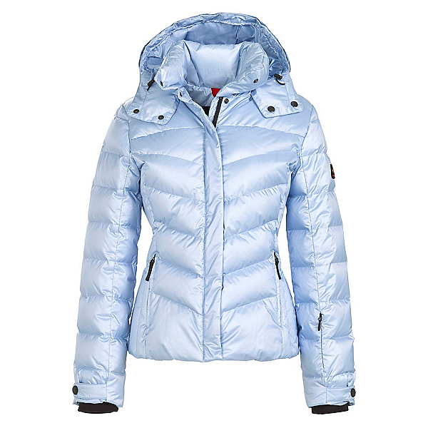 Bogner Fire + Ice Sally3 Down Womens Insulated Ski Jacket, Glacier Metallic, 600