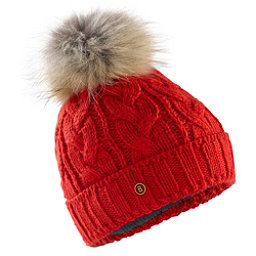 Bogner Fire + Ice Drew Womens Hat, Fire Red, 256