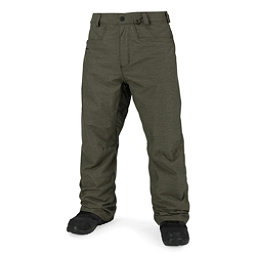 Volcom Carbon Mens Snowboard Pants, Military, 256