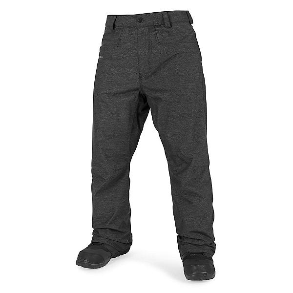 Volcom Carbon Mens Snowboard Pants, Black, 600