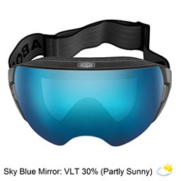 Abom Heet Goggles 2018, Sky Blue Mirror, 256