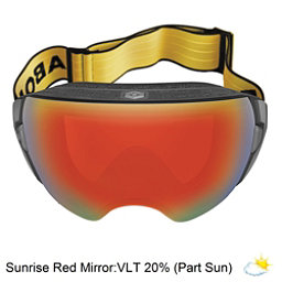 Abom Heet Goggles 2018, Sunrise Red Mirror, 256