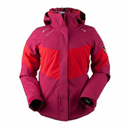Obermeyer Double Dare 4-in-1 Down Womens Insulated Ski Jacket, Sangria, 256