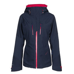 Obermeyer Reflection Womens Insulated Ski Jacket, Storm Cloud, 256