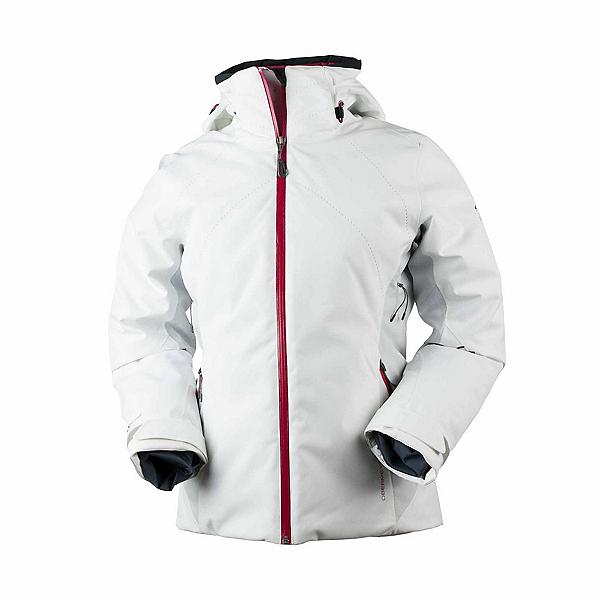Obermeyer Vivid Womens Insulated Ski Jacket 2018, White, 600