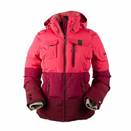Obermeyer Leighton Womens Insulated Ski Jacket, Island Sunset, 256
