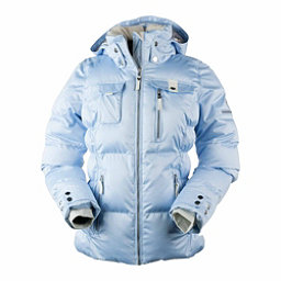 Obermeyer Leighton Womens Insulated Ski Jacket, Icescape Blue, 256
