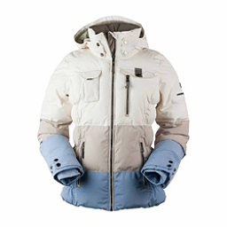 Obermeyer Leighton - Petite Womens Insulated Ski Jacket, Linen, 256