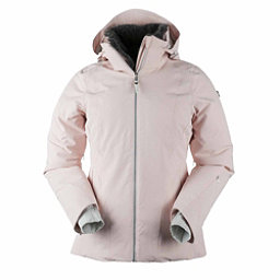 Obermeyer Sola Down Womens Insulated Ski Jacket, Pink In Paris, 256