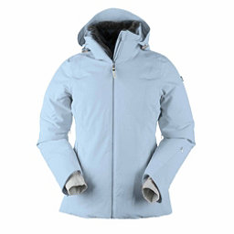 Obermeyer Sola Down Womens Insulated Ski Jacket, Icescape Blue, 256