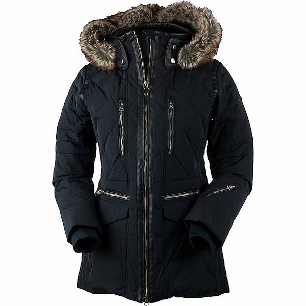 Obermeyer Blythe Down w/Faux Fur Womens Insulated Ski Jacket 2019, , 600