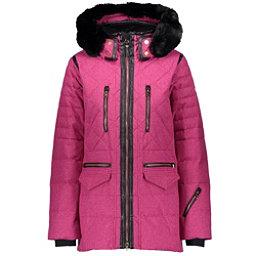 Obermeyer Blythe Down w Faux Fur Womens Insulated Ski Jacket a56054f8d