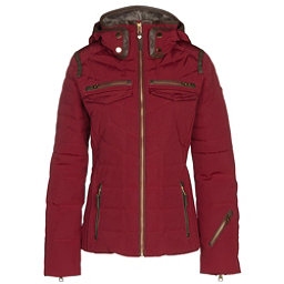 Obermeyer Devon Down Womens Insulated Ski Jacket, Red Tannin, 256