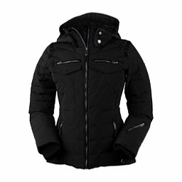 Obermeyer Devon Down Womens Insulated Ski Jacket, Black, 256