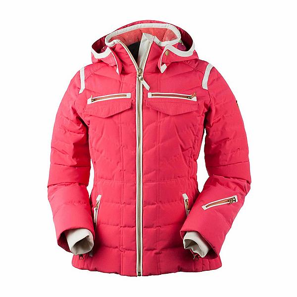 Obermeyer Devon Down Womens Insulated Ski Jacket, Island Sunset, 600