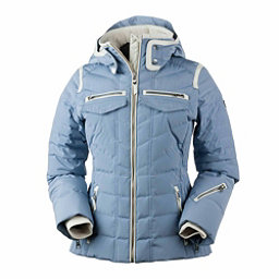 Obermeyer Devon Down Womens Insulated Ski Jacket, Washed Indigo, 256
