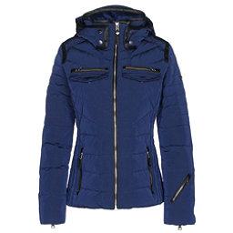 Obermeyer Devon Down Womens Insulated Ski Jacket, Resort At Midnight, 256
