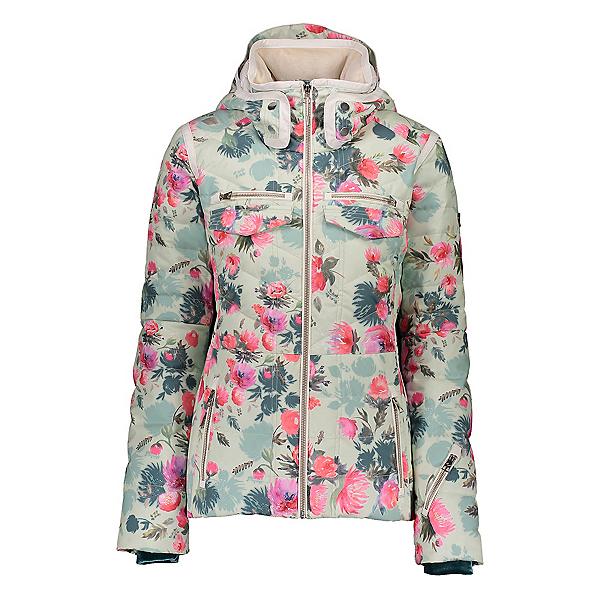 Obermeyer Devon Down Womens Insulated Ski Jacket, Botanic Glaze, 600