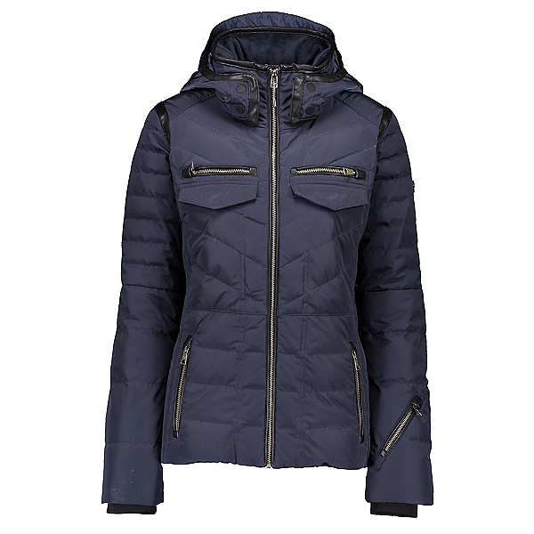 Obermeyer Devon Down Womens Insulated Ski Jacket, Throw Shade, 600