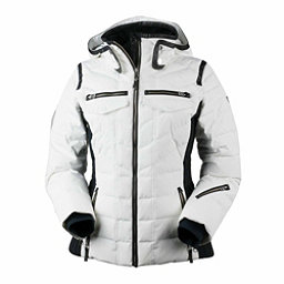 Obermeyer Devon Down - Petite Womens Insulated Ski Jacket, White, 256