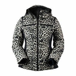 Obermeyer Devon Down - Petite Womens Insulated Ski Jacket, Leopard, 256