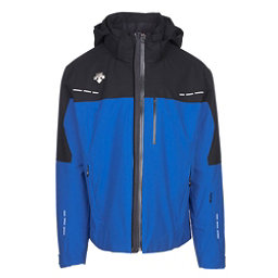 Descente Silas Mens Insulated Ski Jacket, True Blue-Black, 256