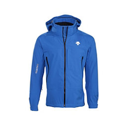Descente Moe Mens Shell Ski Jacket, Wave Blue-Black, 256