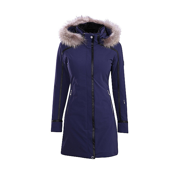 Descente Ruby Real Fur Womens Insulated Ski Jacket, , 600