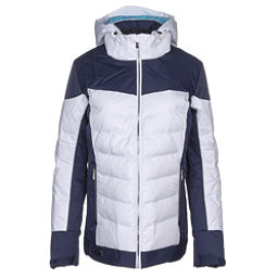 Descente Hayden Womens Insulated Ski Jacket, Super White-Dark Night, 256
