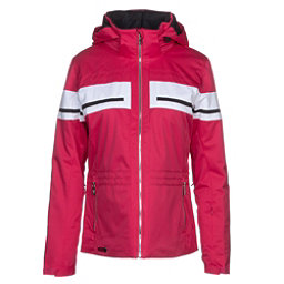 Descente Quincy Womens Insulated Ski Jacket, Crimson Pink, 256