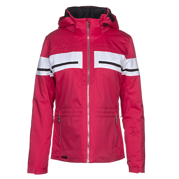 Descente Quincy Womens Insulated Ski Jacket, Crimson Pink, 600