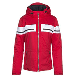 Descente Quincy Womens Insulated Ski Jacket, Electric Red, 256
